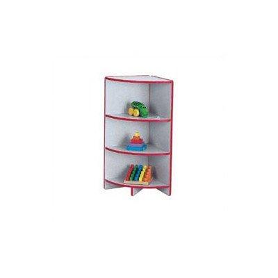 rainbow accents bookcase w 2