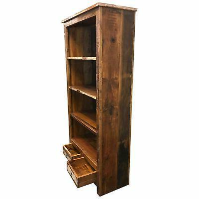 """Rustic Bookcase 36"""" x W"""