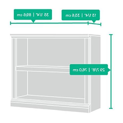 Sauder 420178 2-Shelf Bookcase 2, Oiled Oak