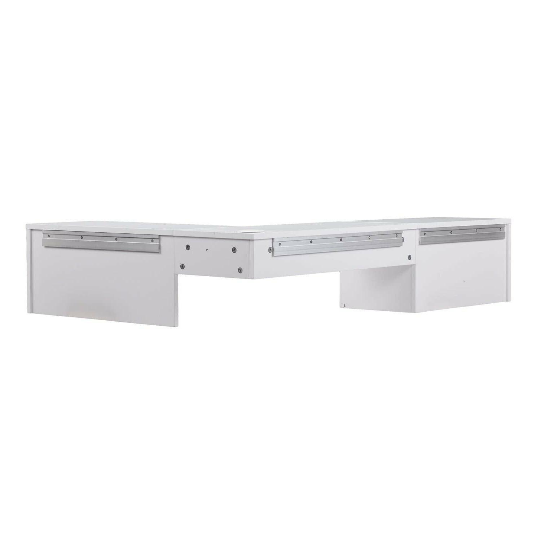 Small Mount Writing Desk Pure White Finish