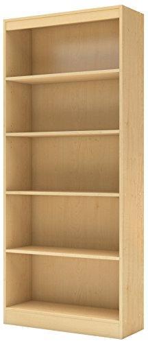 South Shore Axess 5-shelf Natural Maple Bookcase