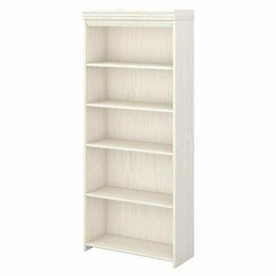 stanford 5 shelf bookcase antique