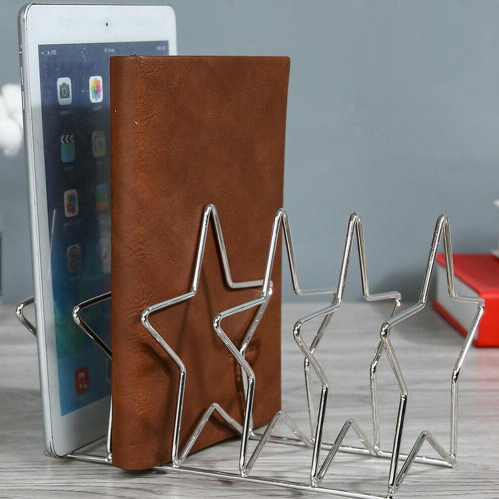 Desktop Bookshelf Iron Art Supply