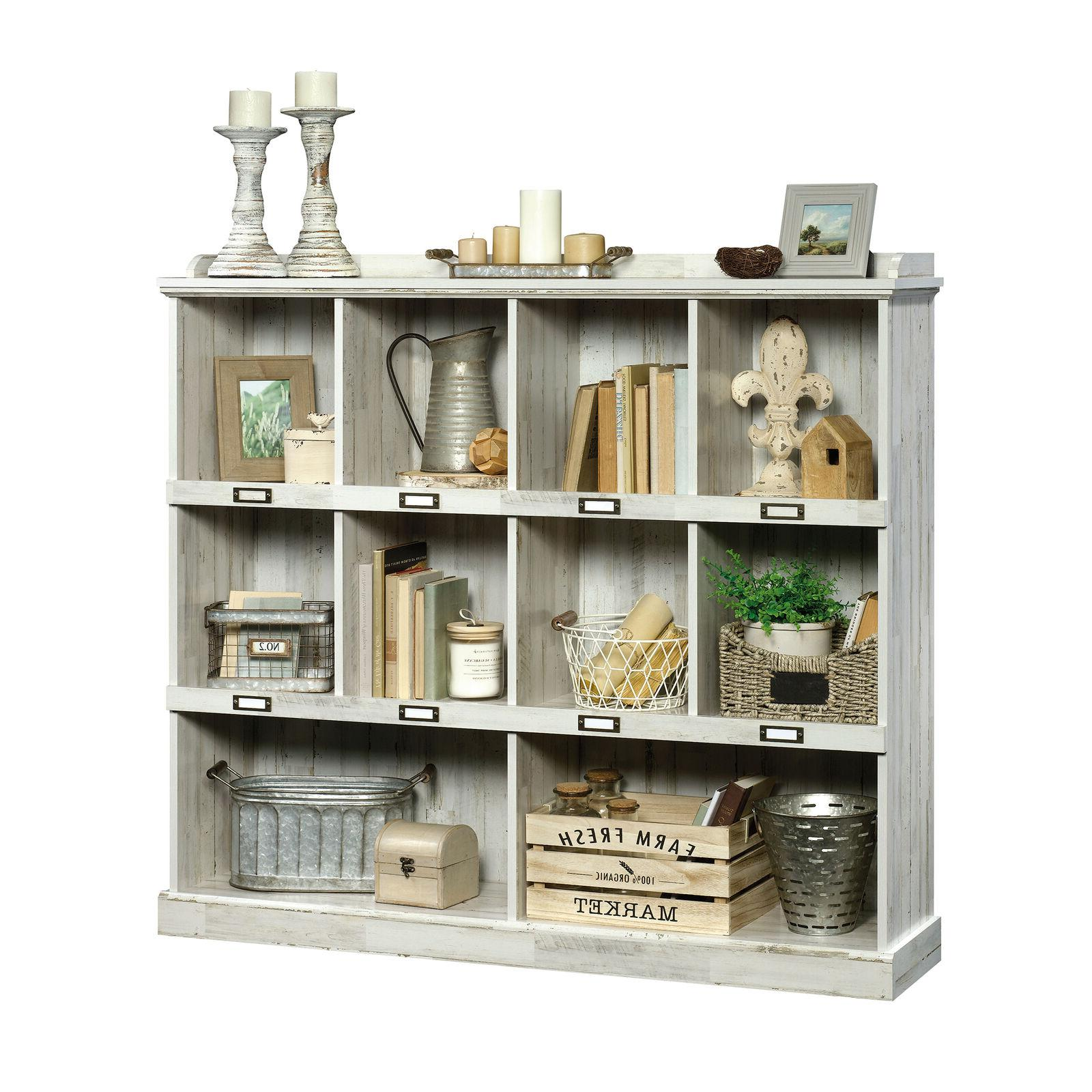 Storage Shelves Organizer Living Bookshelf Furniture