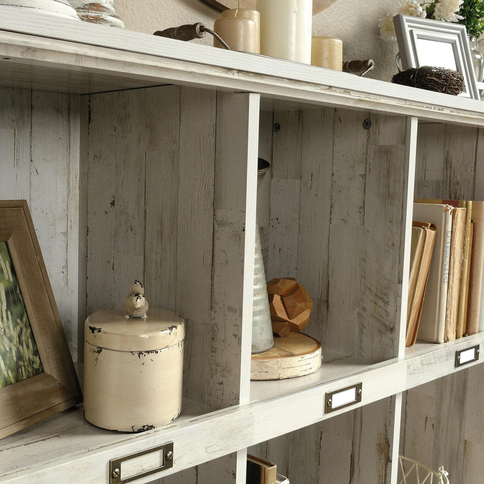 Storage Bin Organizer Living Room Bookshelf Furniture