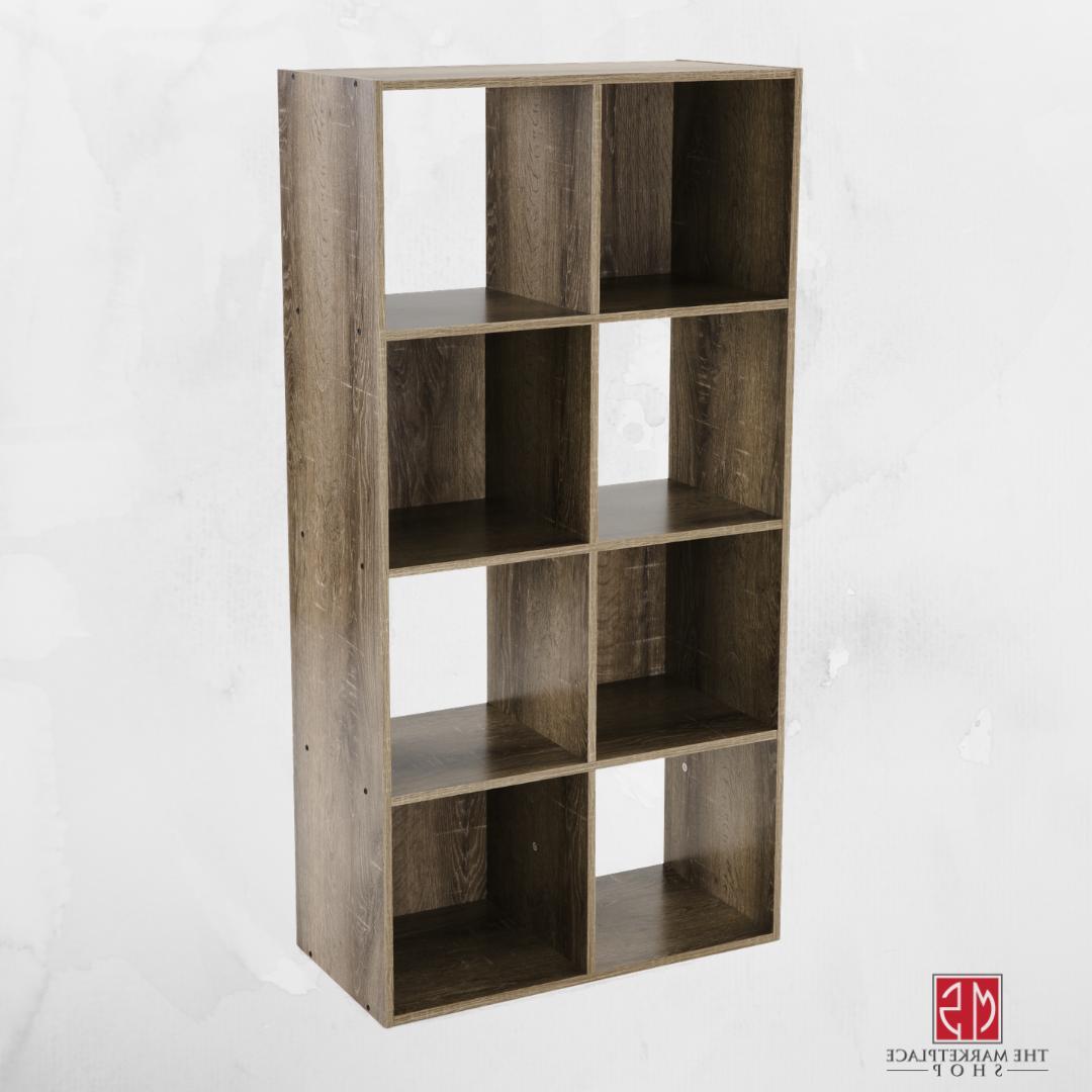 storage organizer bookcase 8 cube home office