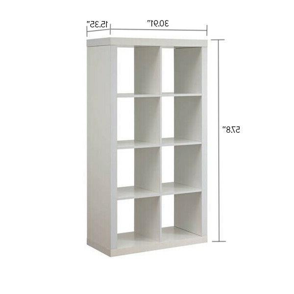 storage organizer furniture 8 cube horizontal or