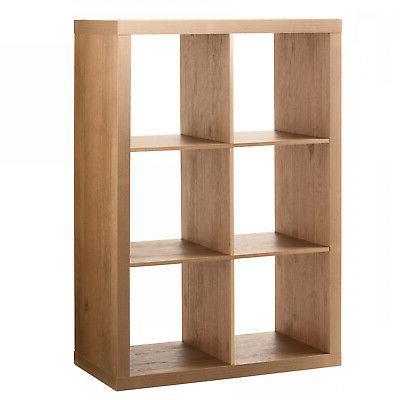 Storage Shelf Cube Bins Record Holder TV Stand