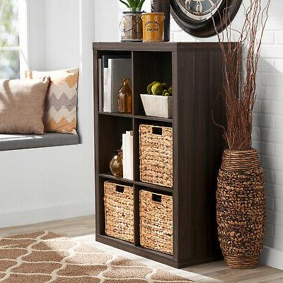 Storage Cube Bins Display Record Holder TV