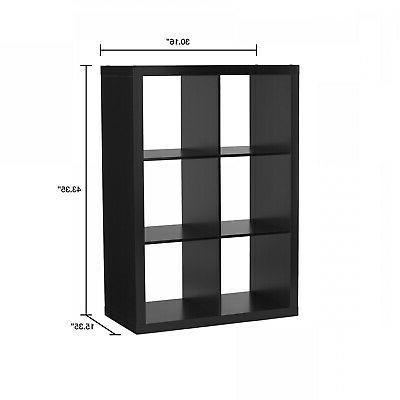 Storage Shelf Cube Display Record Stand