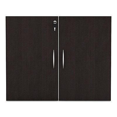 "Door Kit For Bookcases, 31 1/4"" Espresso"