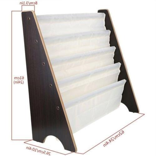 Vehicle Sling Book Case Shelf Bookcase Storage Bedroom For
