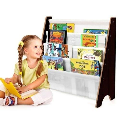 vehicle sling book paper case shelf bookcase
