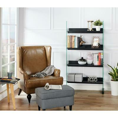 Modern 4-Shelf Bookcase