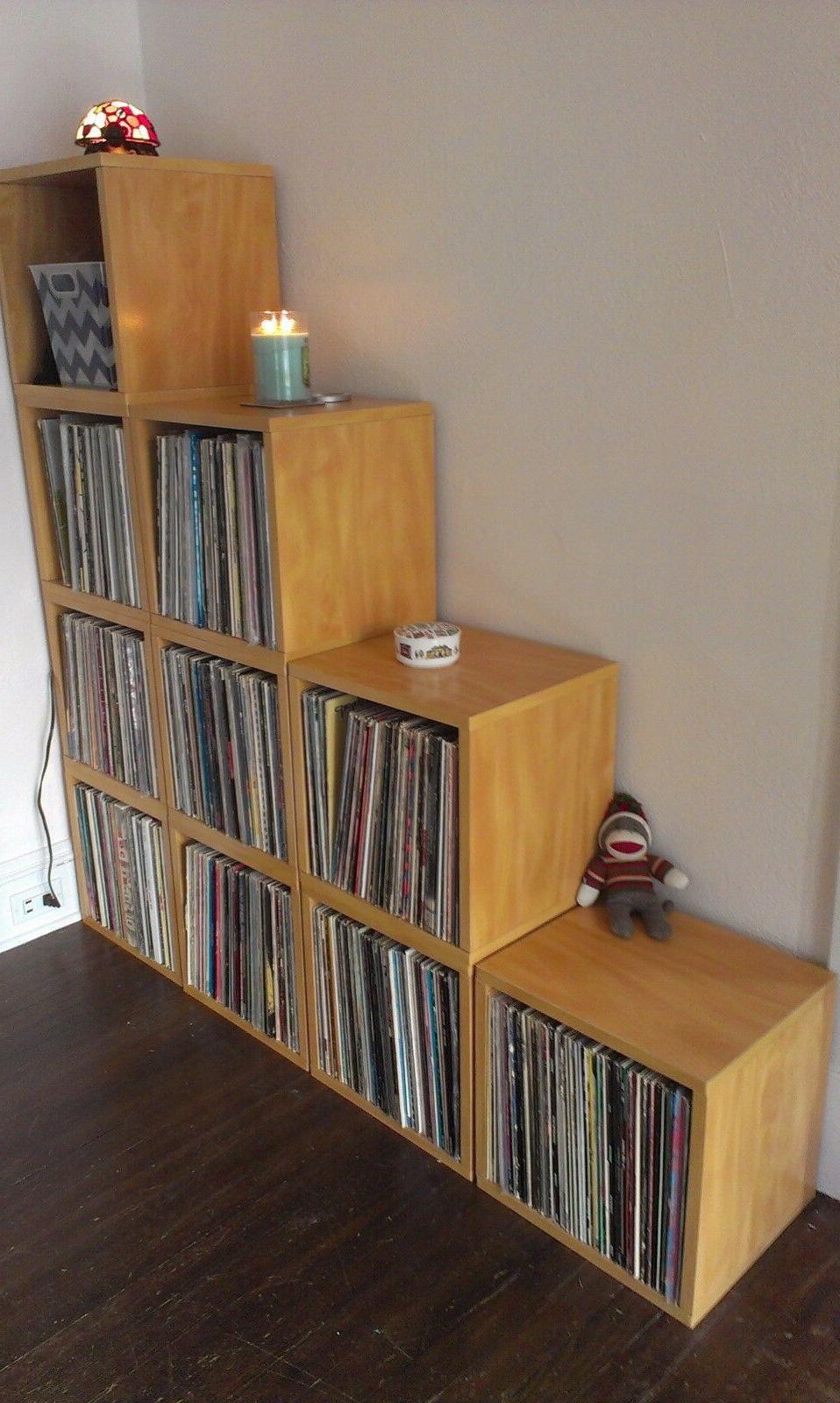 Vinyl Album Album Storage Cube Bookcase FREE