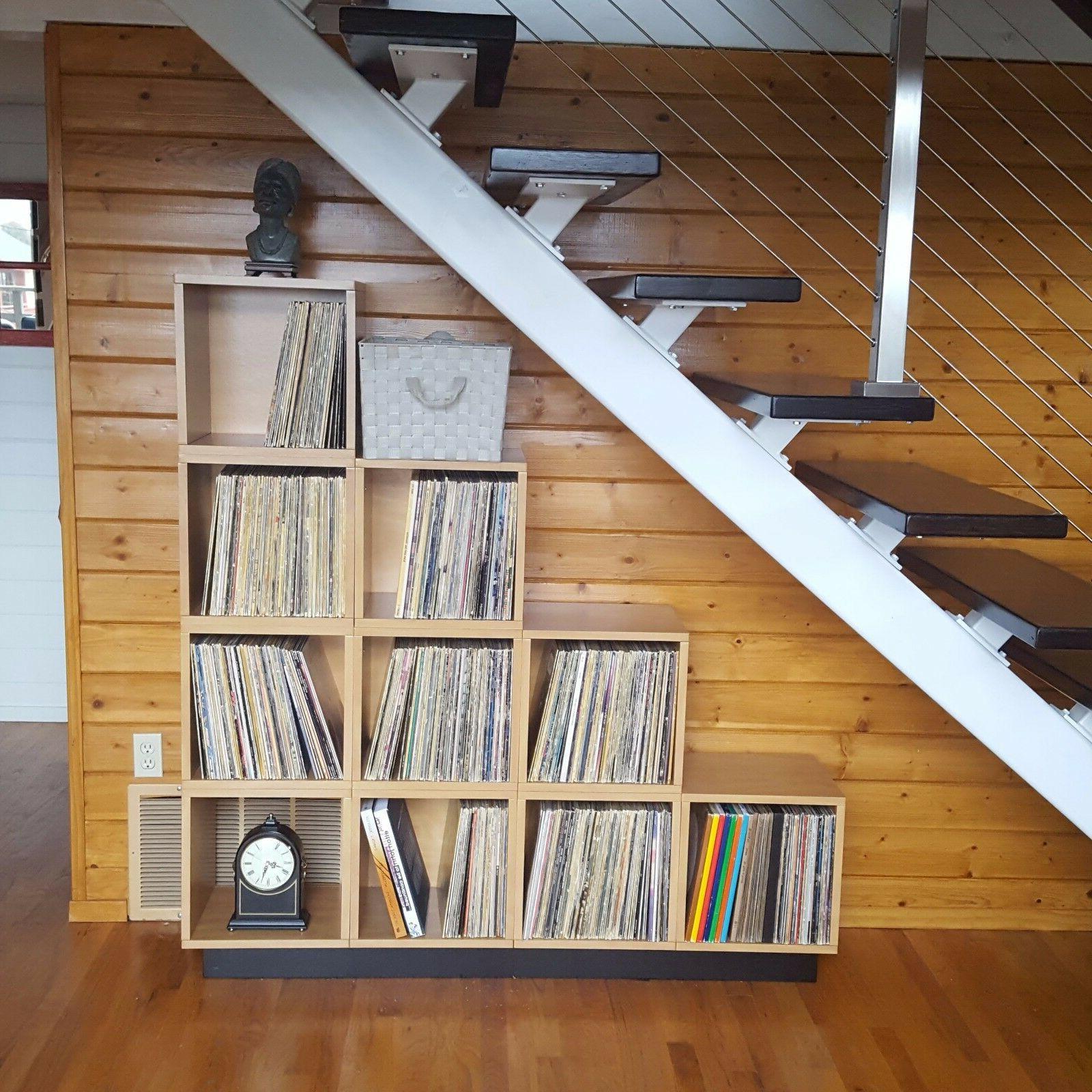 Vinyl Album Bookcase FREE SHIP