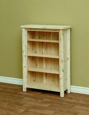 white cedar classic bookshelf size and stain