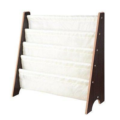 Wood Shelf Storage Rack Organizer Bookcase Display White/Walnut/Natural Opt