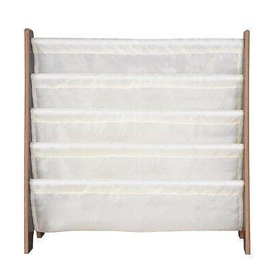 Wood Kids Shelf Storage Rack Organizer Bookcase Holder Opt