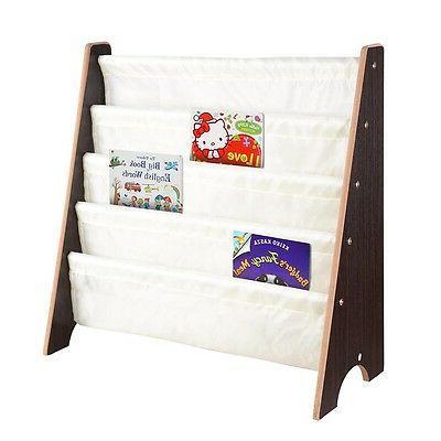 Wood Shelf Rack Bookcase Opt