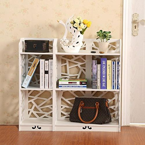 D-line and Bookcase White,