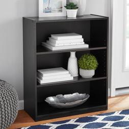 """Mainstays 31"""" 3-Shelf Bookcase, Multiple Finishes"""
