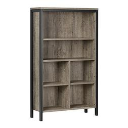 South Shore  Munich 6-Shelf Bookcase With Cubes Weathered Oa