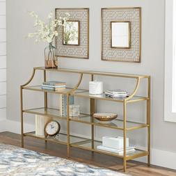 NEW Better Homes & Gardens Nola Console Table Gold Finish St