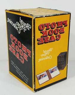 NIP Vintage Photo Book Case decorative 4-piece 5x7 storage a