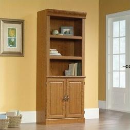 Sauder Orchard Hills 3 Shelf Bookcase in Carolina Oak