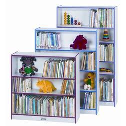 Rainbow Accents Bookcase w 2 Shelves