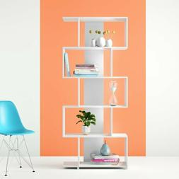 shelf bookcase storage modern style