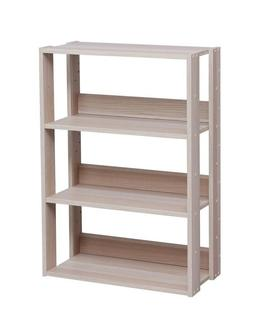 Small Narrow Open Bookshelf Bookcase Shelf For Books With Ad