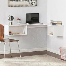 small space friendly wall mount floating bookcase