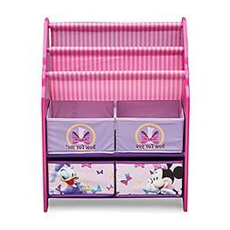 Storage Organizer Kids Bedroom Furniture Girls Minnie Mouse