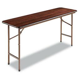 TABLE, FOLDING,60X18, WAL
