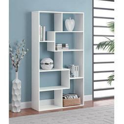 Tall Bookcase Cubby large Open Bookshelf Modern Cube 8 Shelf