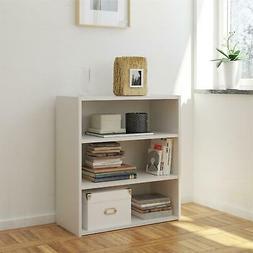 tally 3 shelf bookcase multiple colors
