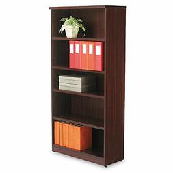Alera VA636632MY Valencia Series Bookcase 5 Shelves 31-3/4w