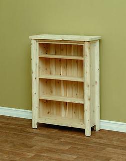 White Cedar Classic Bookshelf  *Size & Stain Options*